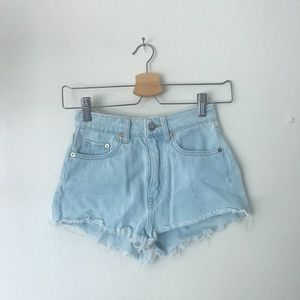 High Waisted H&M Jean Shorts